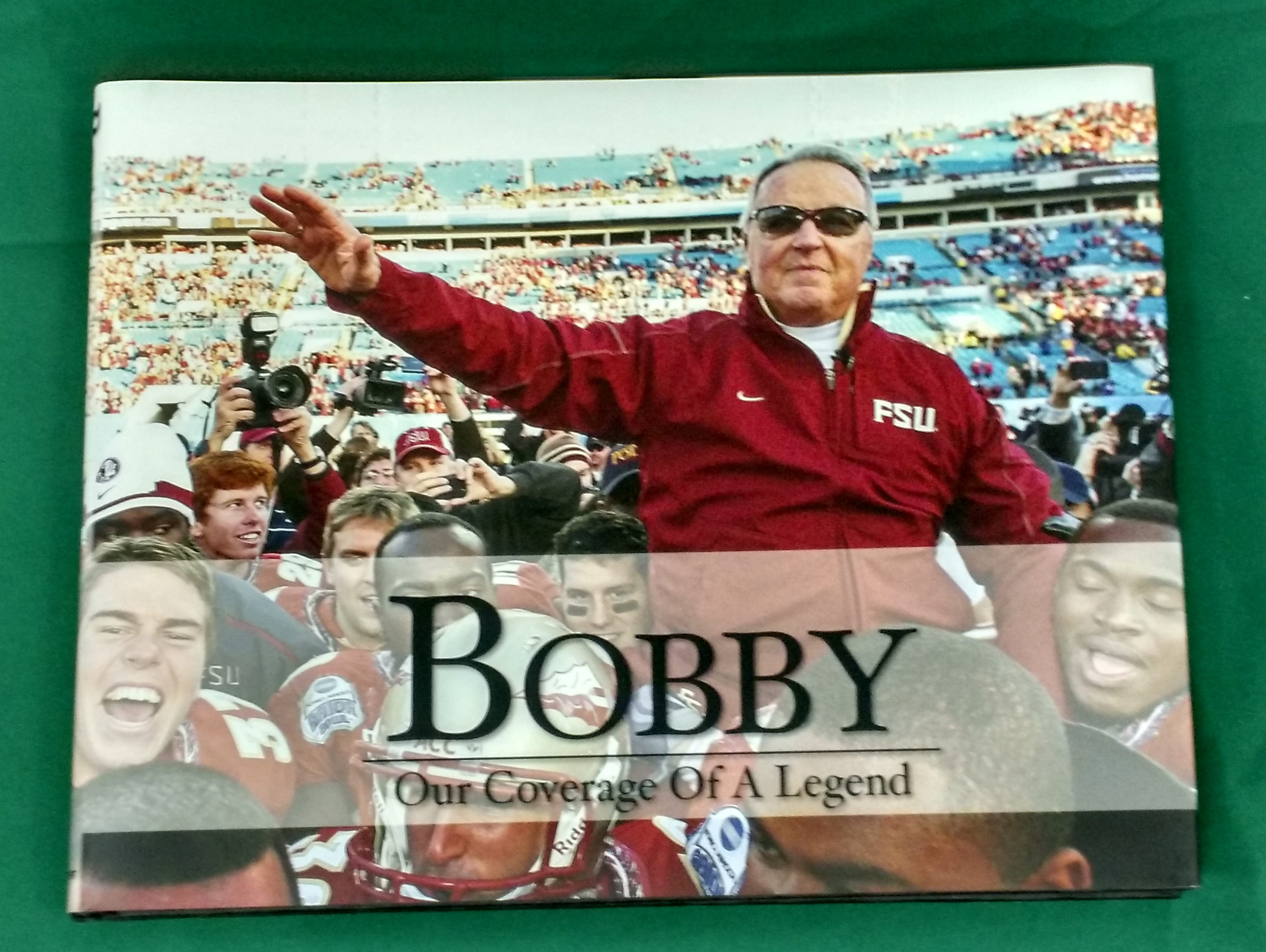 Get 75 percent off a book chronicling the 34-year career of FSU legend Coach Bobby Bowden!