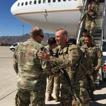 Final flight of 1st Brigade soldiers returns to Bliss from Afghanistan