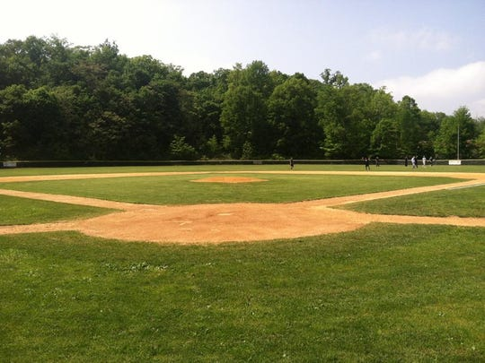 Ridge High School baseball field