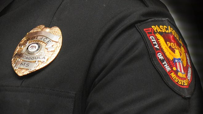A Pascagoula police officer is shown in this file photo illustration.