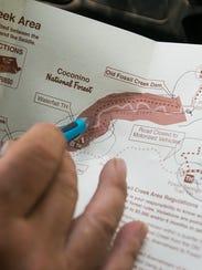 Se recomienda a la gente llevar un mapa para evitar