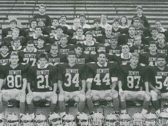 Dewitt Hall of fame team photo