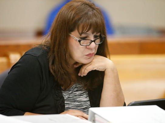 Former Bowie High School Assistant Principal Anna Luisa