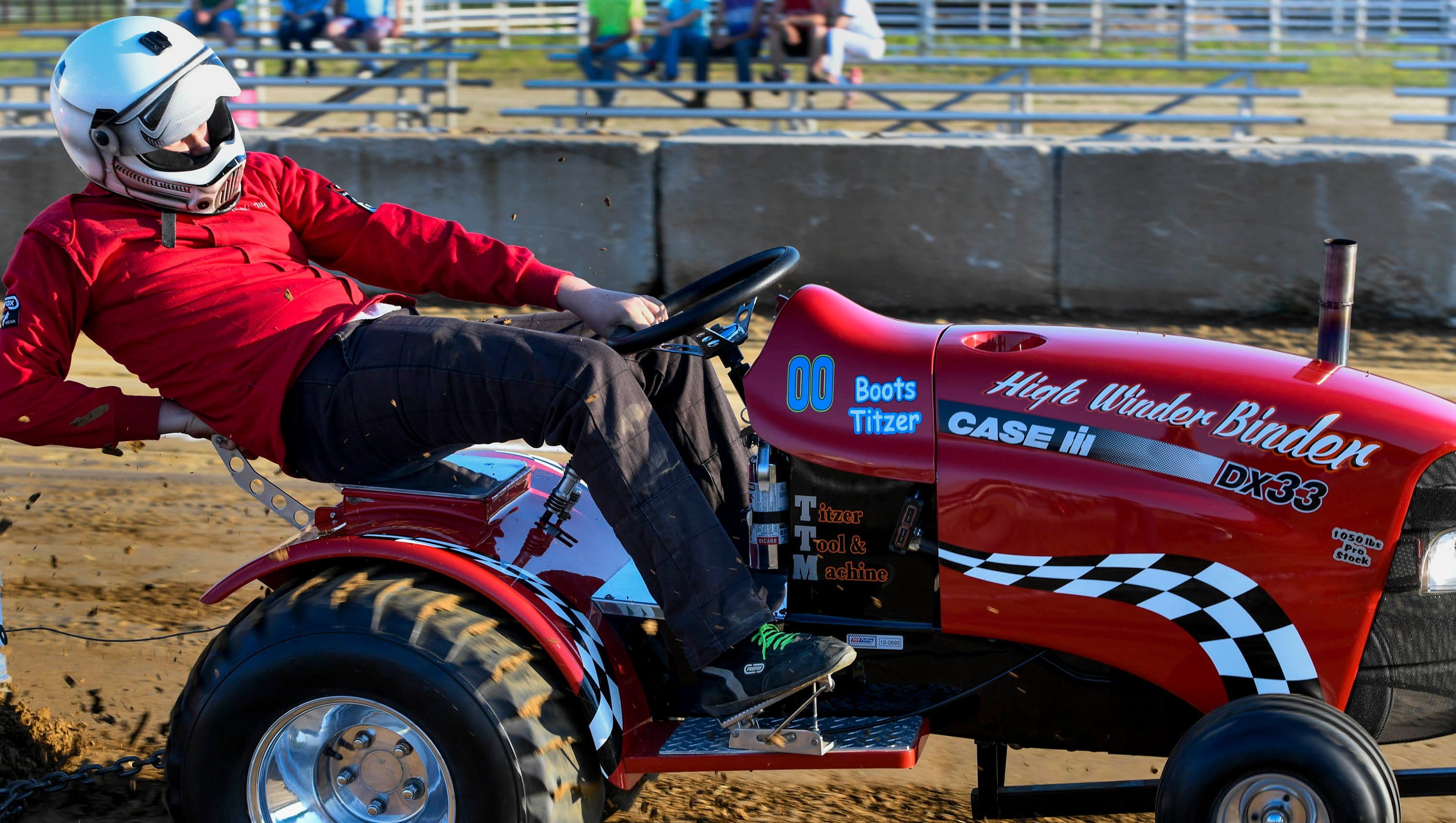 Garden Pulling Tractor Decal : Garden tractor pull