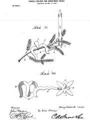 Stolze candle holder patent