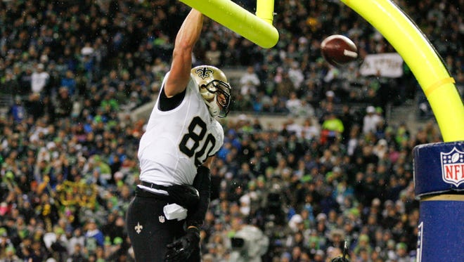 New Orleans Saints' Jimmy Graham was ruled Wednesday to be a tight end by an arbitrator.