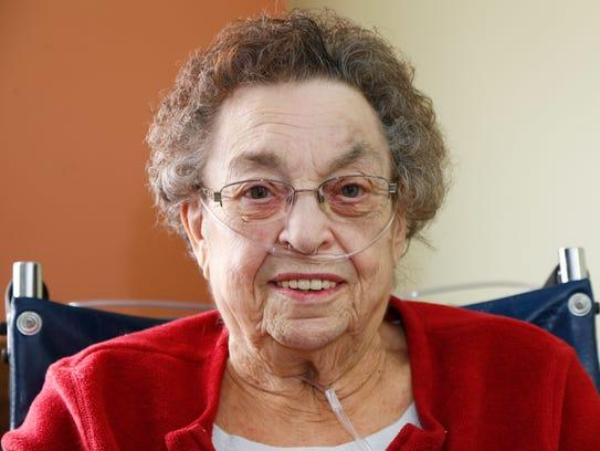 Joan Reno at Elizabeth Church Manor Nursing Home in
