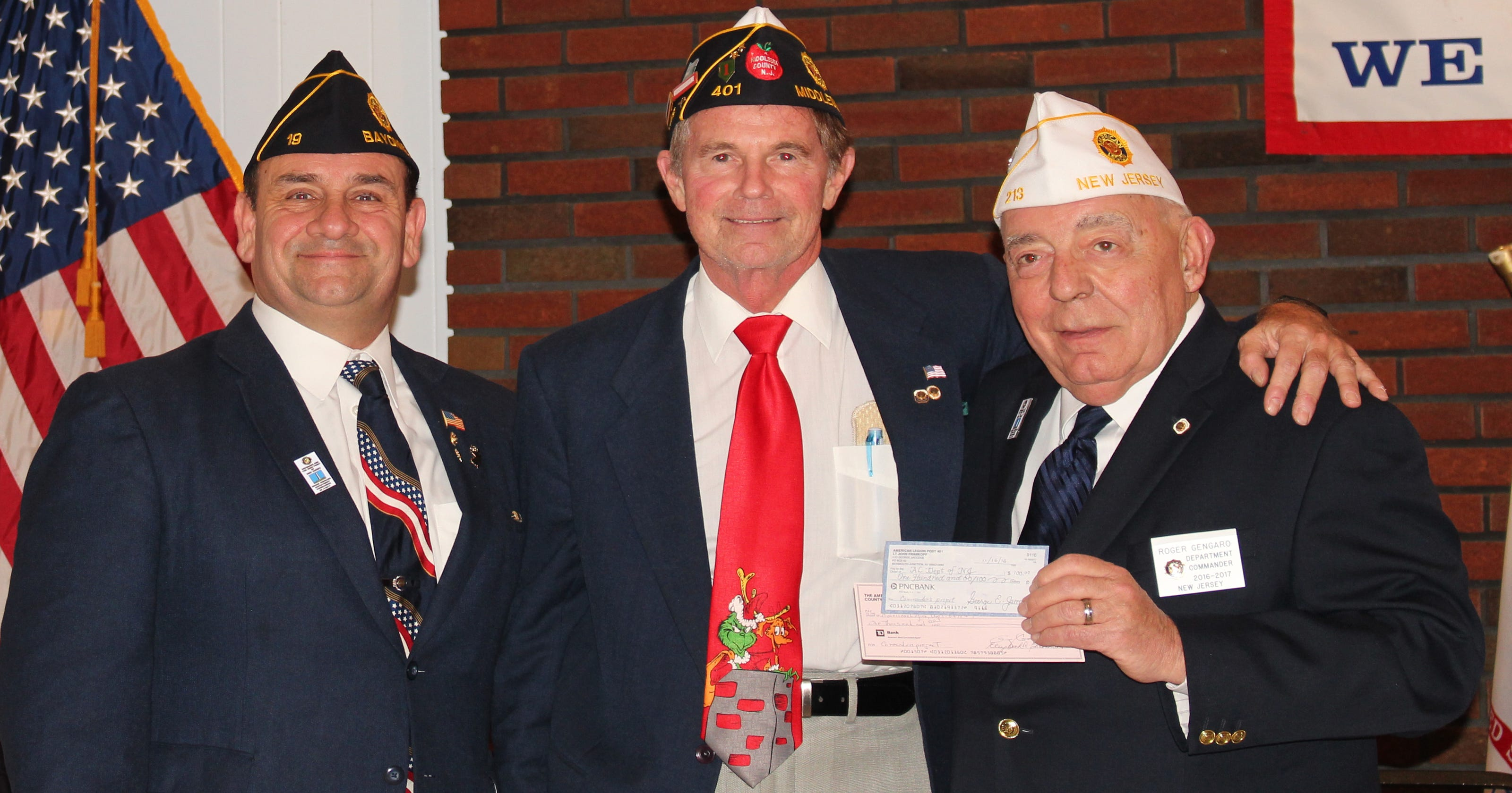 Middlesex County: American Legion supports state commander's