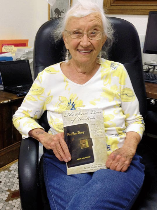 "Poet Bonnie Buckley Maldonado has been named the WILLA Literary Award Winner in Poetry for her book, ""The Seceret Lives of Us Kids: A Childhood Memoir, 1941-1942."" Randal Seyler - Sun-News"