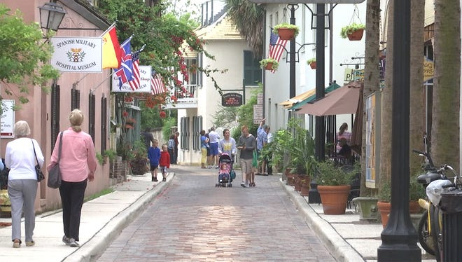 Aviles Street in St. Augustine is the oldest street in the United States. On March 2, 1800, it was the site of a murder witnessed by more than a dozen people.