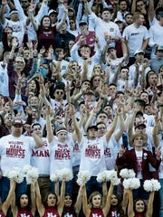 The NMSU student section came out in force for the