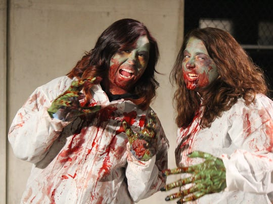 Zombie events will be happening this weekend in Somerville, New Brunswick, Frenchtown and Lambertville.