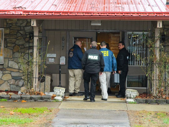 FBI agents on Thursday raided the Qualla Housing Authority