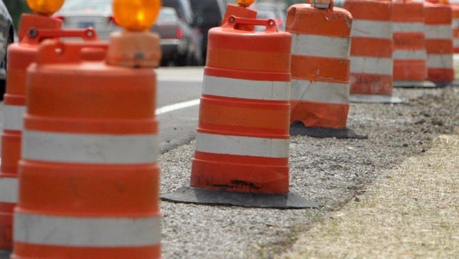 Eight and Nine Mile will be closed between Chubb and Currier in Lyon Township starting Monday.