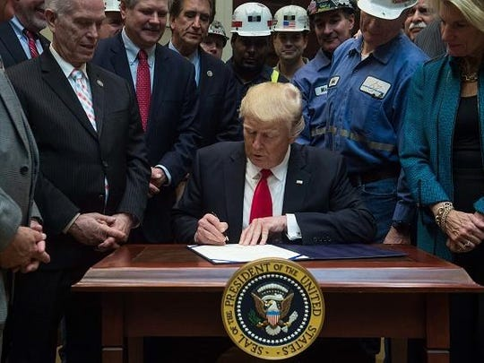 Trump pulled the U.S. from the Paris climate accord and has loosened environmental regulations.