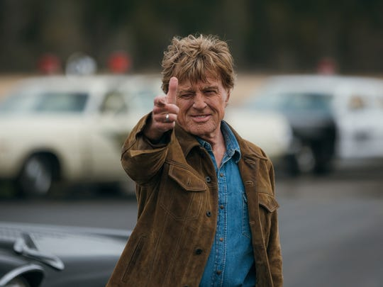 "Robert Redford as Forrest Tucker in ""The Old Man & the Gun."""