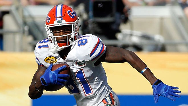 Antonio Callaway opted to forgo his senior season at Florida to enter the 2018 draft.