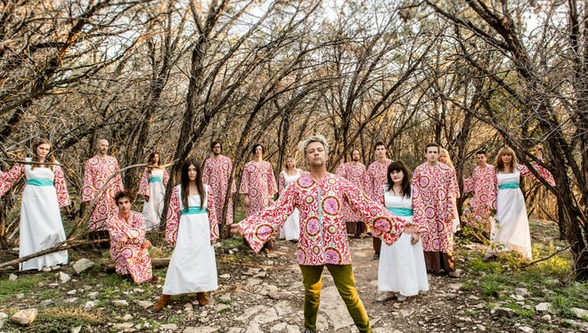 The Polyphonic Spree performs 8:30 p.m. Saturday, Oct. 1 on the Chase Entertainment Stage as part of the Music Prize Showcase at the Red River Revel.