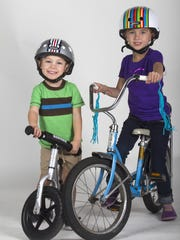Connor, 3, and Lydia Childress, 6, of Fort Myers