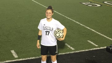 Tuscola's Ashley Weidlich is the WNC Athletic Conference Offensive Player of the Year for girls soccer.