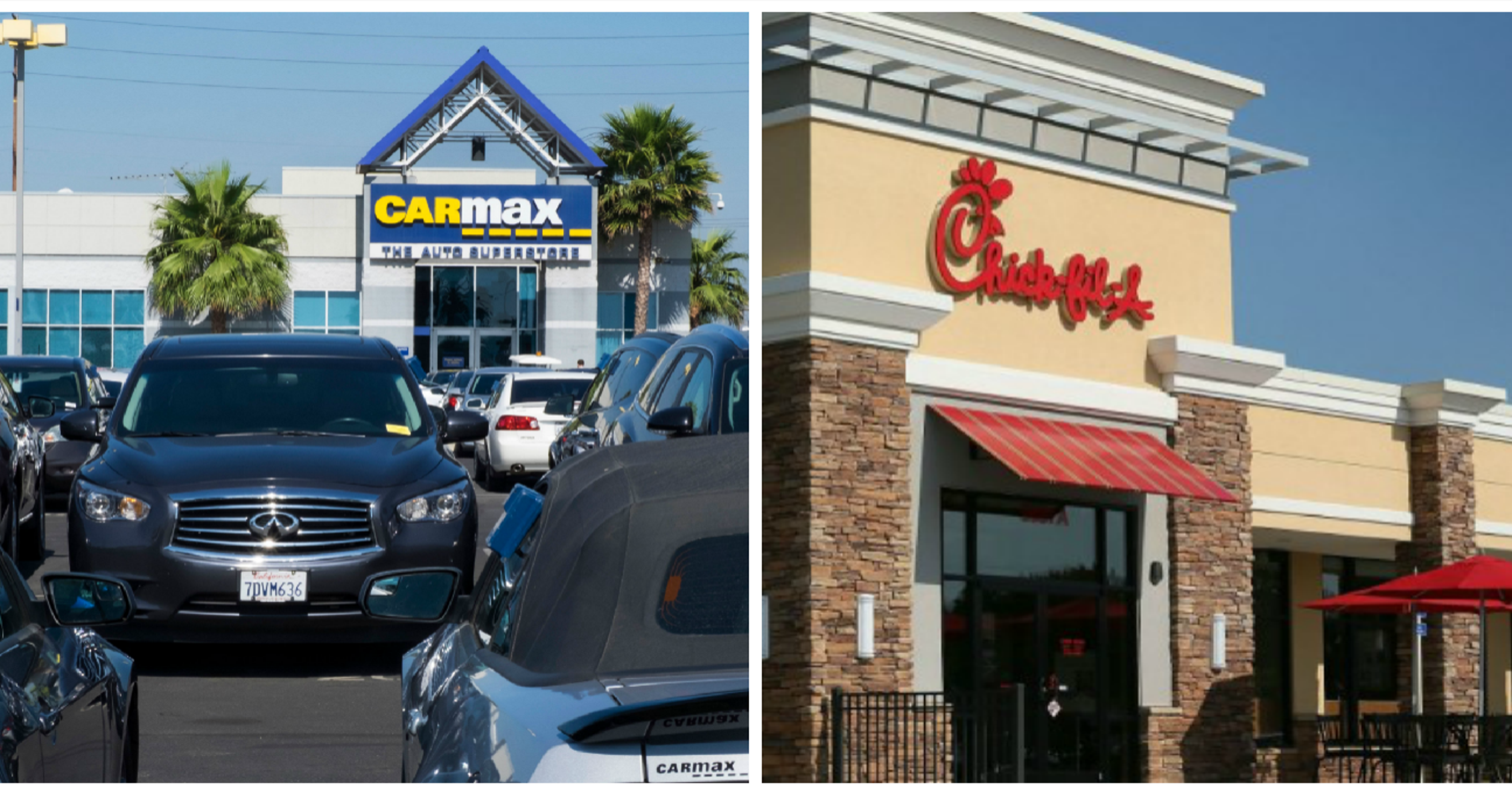 Carmax Chick Fil A And Pieology Among Businesses On Track To Open