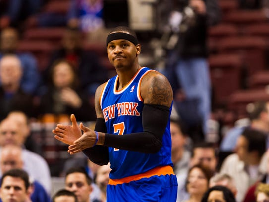 2011: Carmelo Anthony to New York.