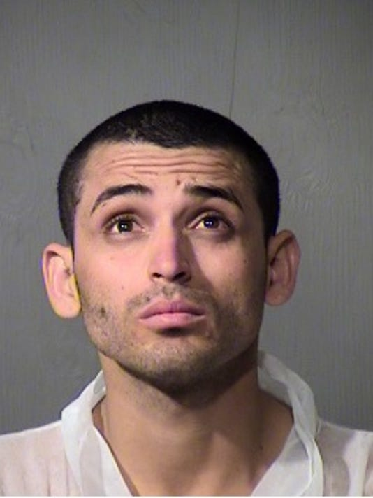 Glendale man accused of setting fire to his apartment after being evicted.