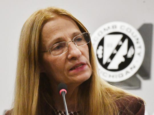 Police would like to interview former Macomb County Clerk Karen Spranger but are unable to locate her, Warren police Commissioner William Dwyer said Wednesday.