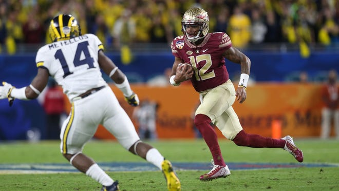 FSU quarterback Deondre Francois and the Seminoles open the 2017 season against Alabama.