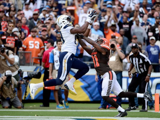 San Diego Chargers vs Cleveland Browns