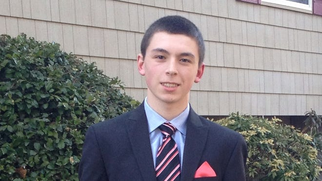 Anthony Vecchione, Suffern, swimming, Rockland Scholar Athlete.