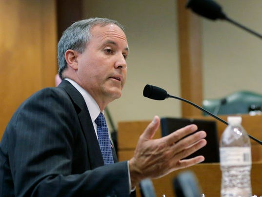 AP TEXAS ATTORNEY GENERAL-INDICTED A FILE USA TX
