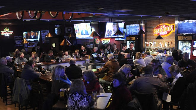 All 12 TVs at the Red Oak Pub will feature the Ohio State Fiesta Bowl game on Dec. 31. All staff will be wearing OSU gear and the pub will serve deep-fried buckeyes.