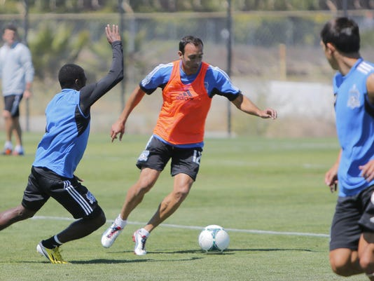 San Jose Earthquakes Training