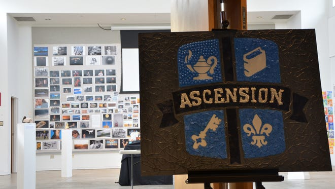 Currently on display at the Acadiana Center for the Arts is student work from Ascension, showcasing photographs, mixed media installations, charcoal drawings and much more.  Students displaying range from 1st through the 12th grades.