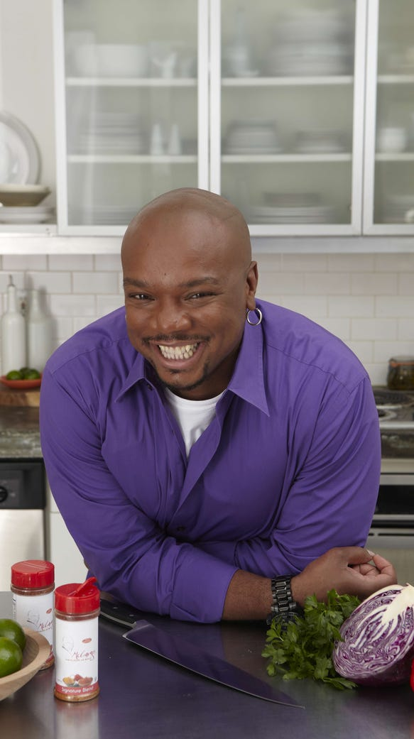 """Aaron McCargo Jr. is a judge of the Food Bank of South Jersey's """"Hunger Games,'' and you could be, too."""