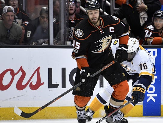 Captain Ryan Getzlaf and the Ducks are hoping to reach