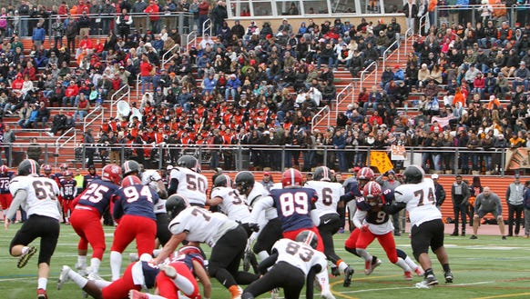 Stepinac defeated White Plains 49-32 in the Turkey