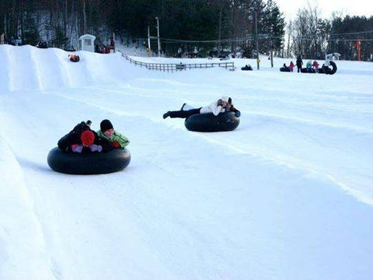 Bruce Mound Winter Sports Area is just an hour-drive