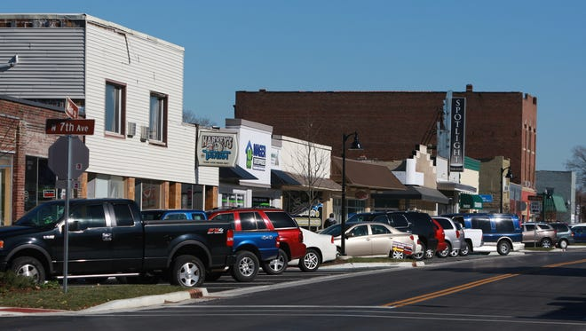 The town finished in fifth place on a RoadSnacks' list of worst Indianapolis suburbs. Main Street in Beech Grove is pictured in 2013.