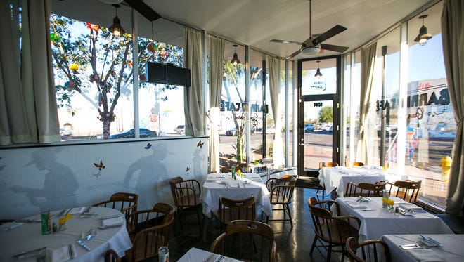 Many talented chefs are working in smaller spaces as demand shifts to more casual restaurants. An example is Barrio Cafe Gran Reserva in Phoenix.