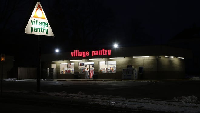 The Village Pantry at 3150 Brady Lane was robbed early Monday.