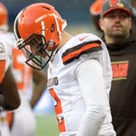 Johnny Manziel's time with the Cleveland Browns