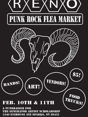 Reno Punk Rock Flea Market will be at the Generator, in Sparks, this weekend.