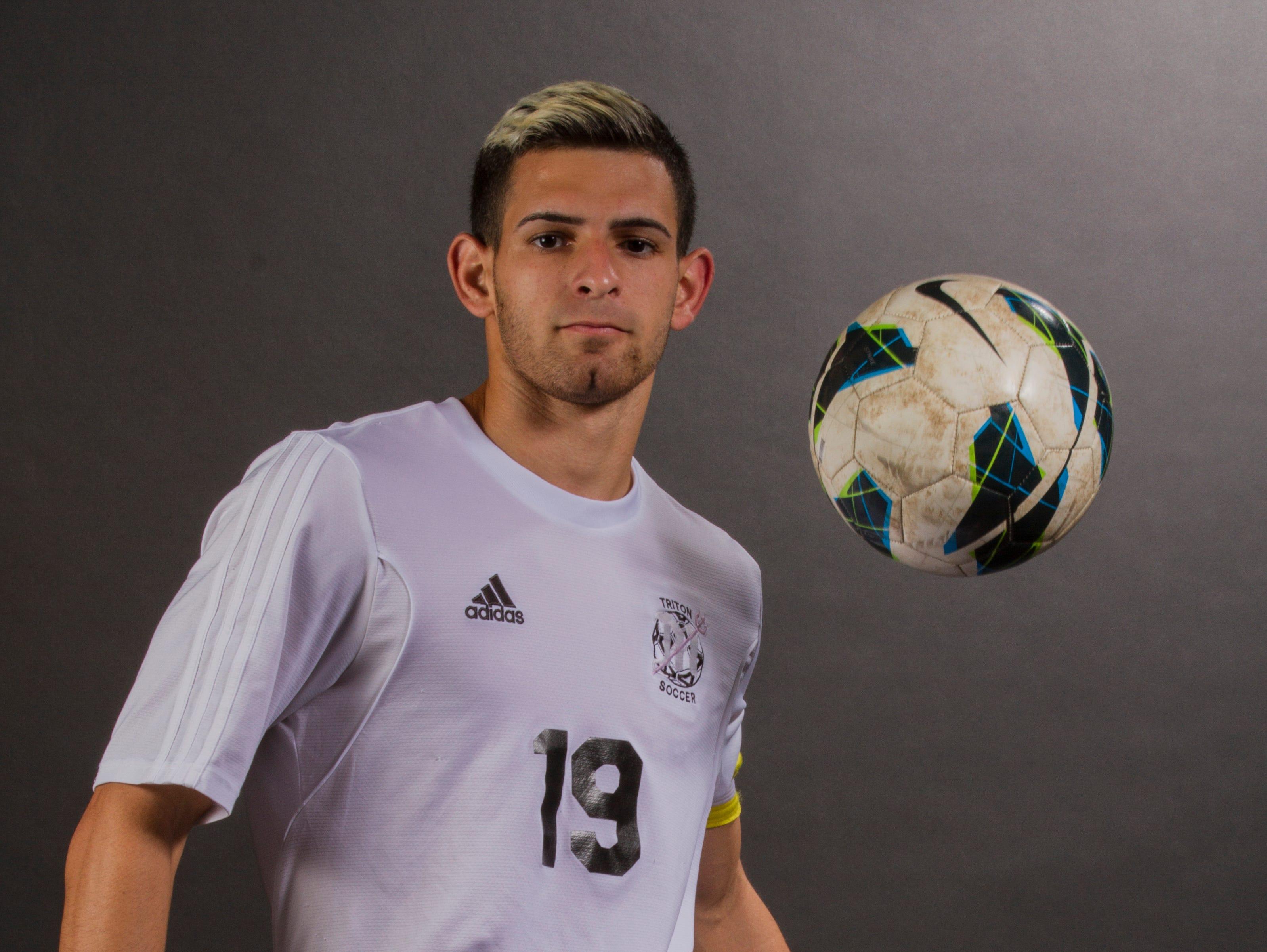 Erick Rivera, 18, is a senior soccer player at Mariner High School.