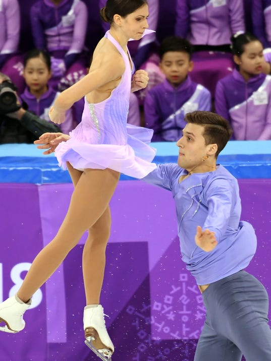 Are any of the olympic pair skaters dating. who was ron dating in the half blood prince.