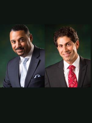 Eric Hardy, 43, CEO and Patrick Tomina, 42, chief Financial Officer. Both founded of W3R Consulting in Southfield.