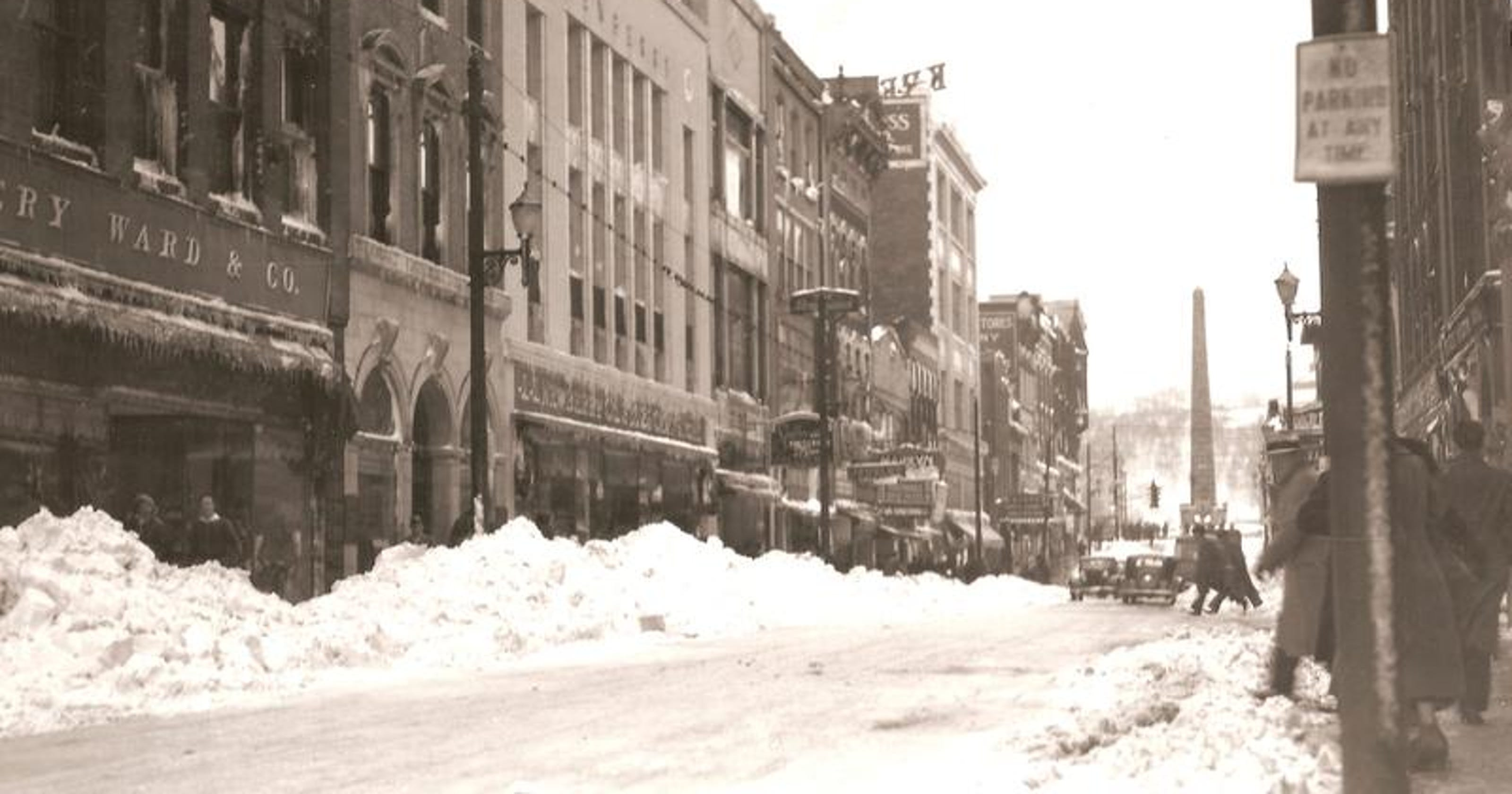 Rob Neufeld looks back at snowy winters of the past