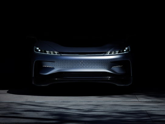 Faraday Future has a 1,000-horsepower electric car