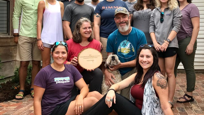 Pack & Paddle received the Community and Events award from the Grassroots Outdoor Alliance.